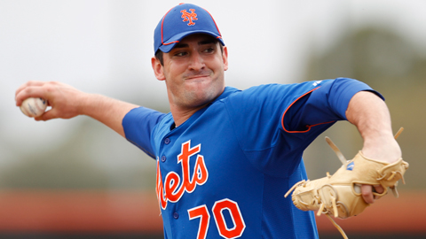 Matt Harvey went 13-5 with a 3.32 ERA across two levels last season.