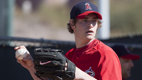 Garrett Richards entered 2012 with a 27-8 record and a 3.14 ERA in 55 starts.
