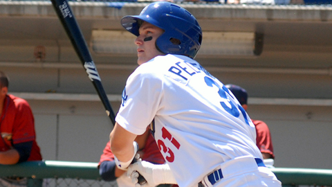 Joc Pederson is batting .286 in 53 games for Rancho Cucamonga.