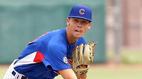 Tayler Scott came to the U.S. during high school and ended up with the Cubs.