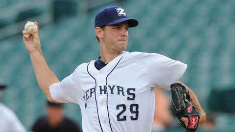 Jacob Turner is 2-0 with a 1.98 ERA through five starts for New Orleans.